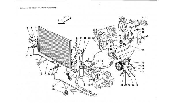 A.C. GROUP: ENGINE COMPARTMENT PARTS