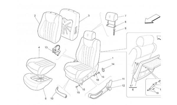 FRONT SEATS: TRIM PANELS