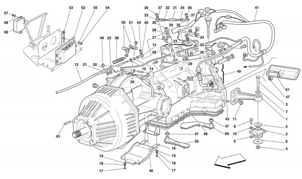 COMPLETE GEARBOX -Valid for 456 GTA-