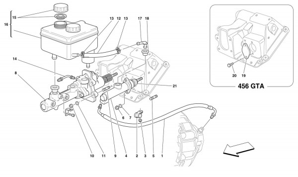 BRAKE AND CLUTCH HYDRAULIC SYSTEM -Valid for GD-