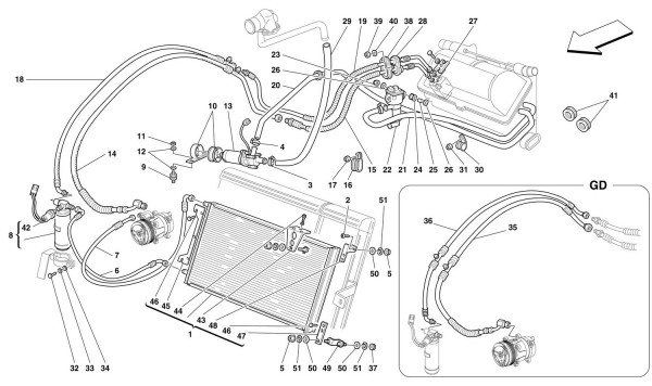 AIR CONDITIONING SYSTEM -Valid from Ass. Nr. 20879-