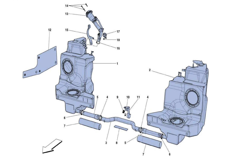 fuel tanks and filler neck