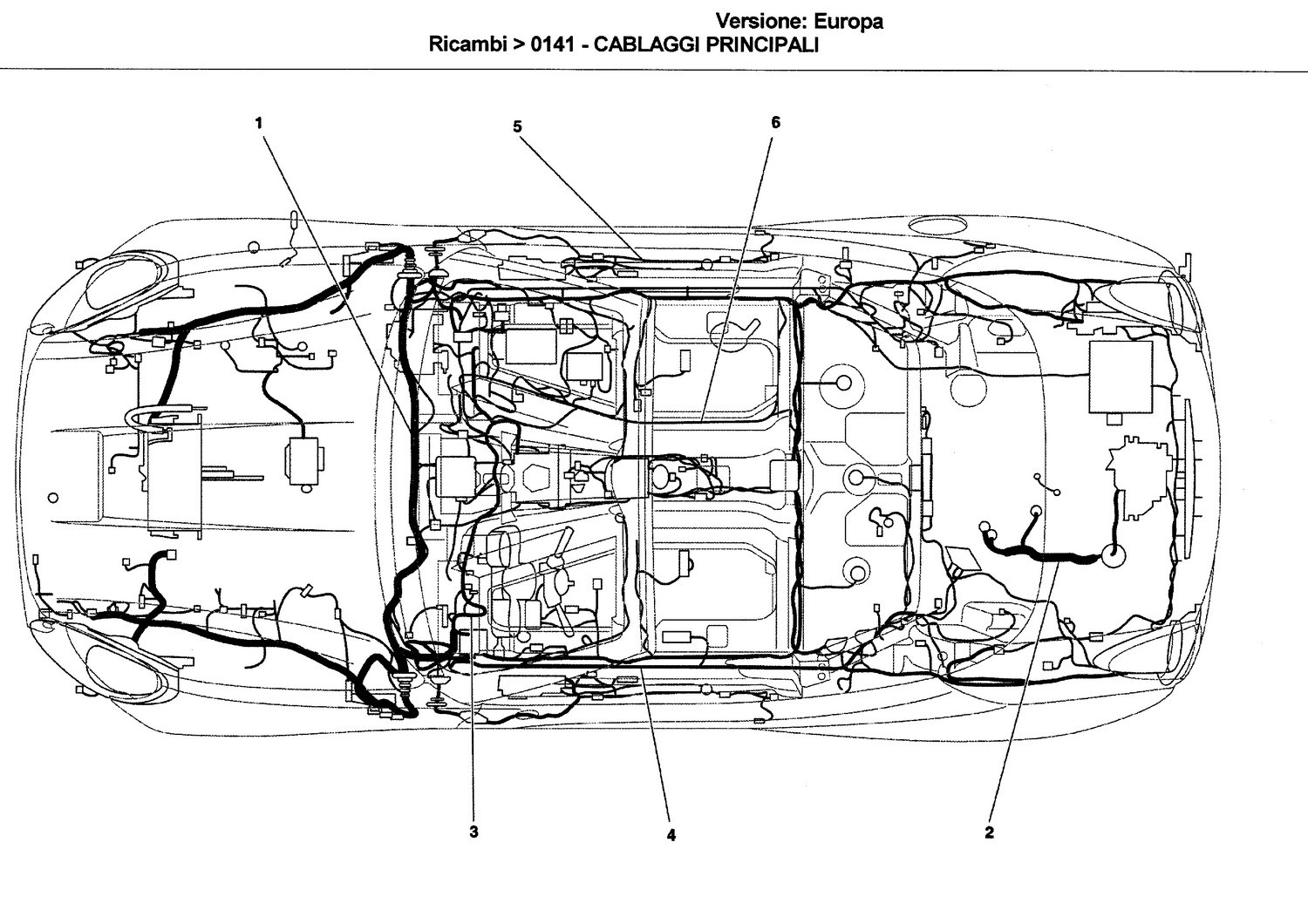 Trunk Compartment Cable