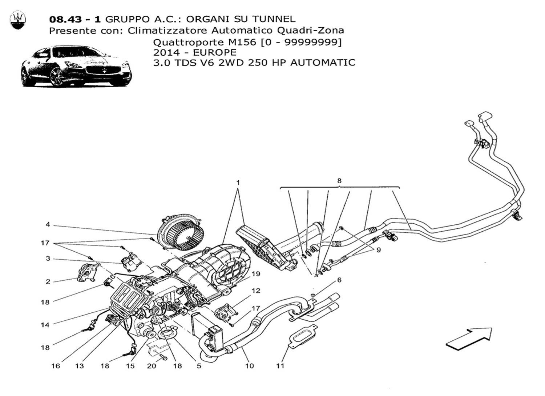 A C Unit Tunnel Devices Autovivo Srl Lighting Diagram