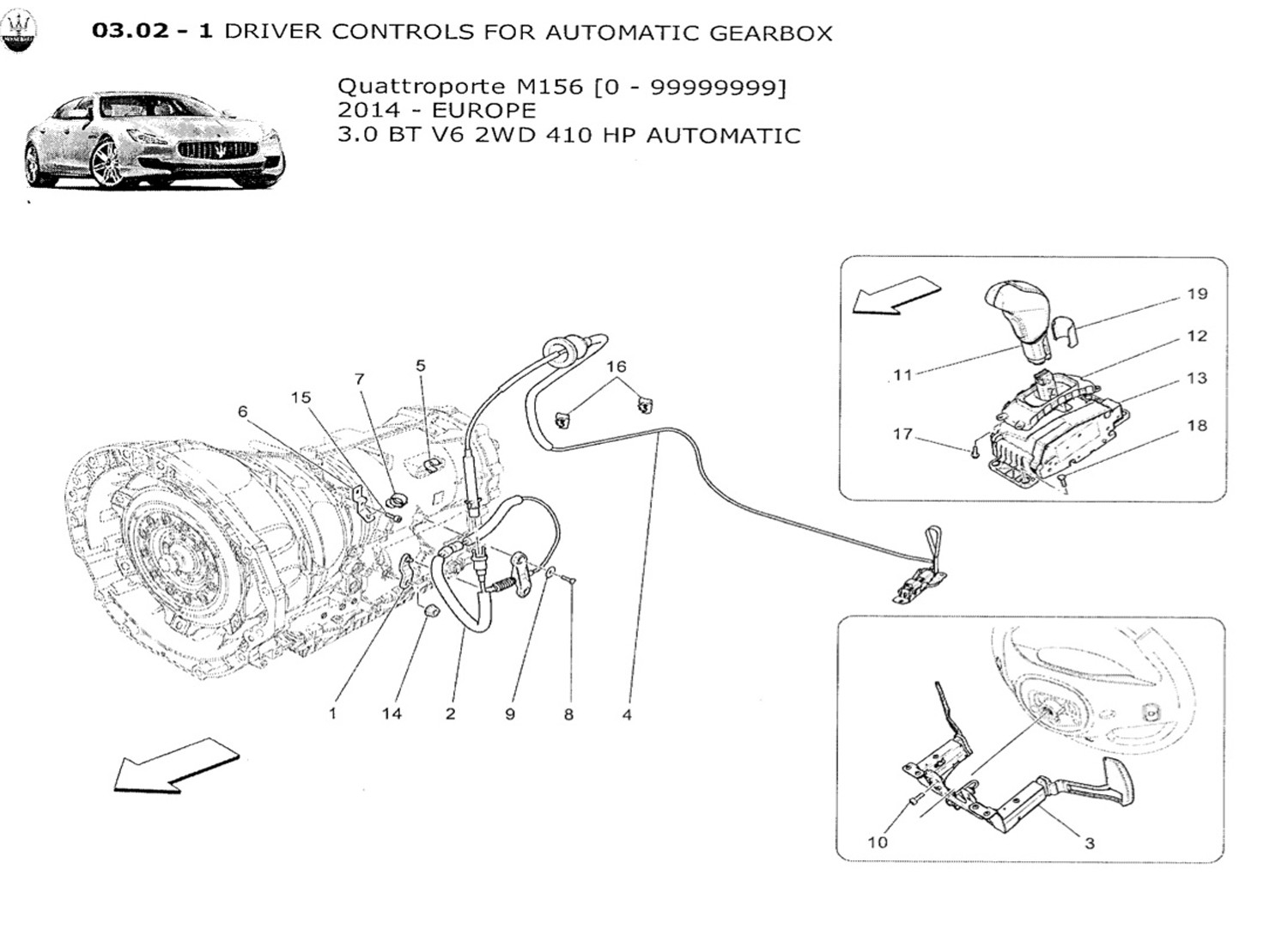DRIVER CONTROLS FOR AUTOMATIC GEARBOX - Autovivo SRL